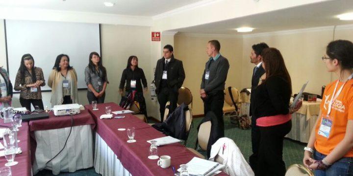 Taller Medyco impartido por Carlos Moya (presidente de AICP) en el III Congreso de Psicología en Colombia.